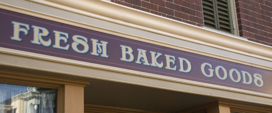 Fresh Baked Goods sign